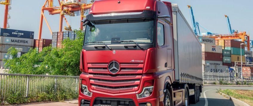 Nový Mercedes-Benz Actros je technologicky najpokročilejší kamión